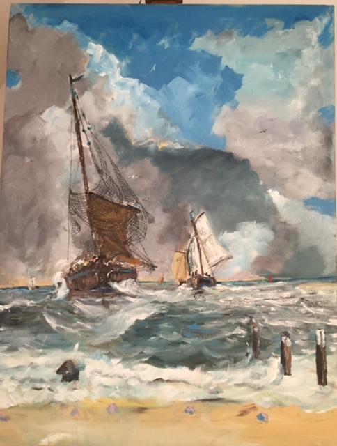 4. Binnenkomst van de vissersvloot, naar Mesdag