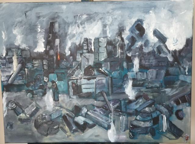 18. Aleppo Guernica 2016