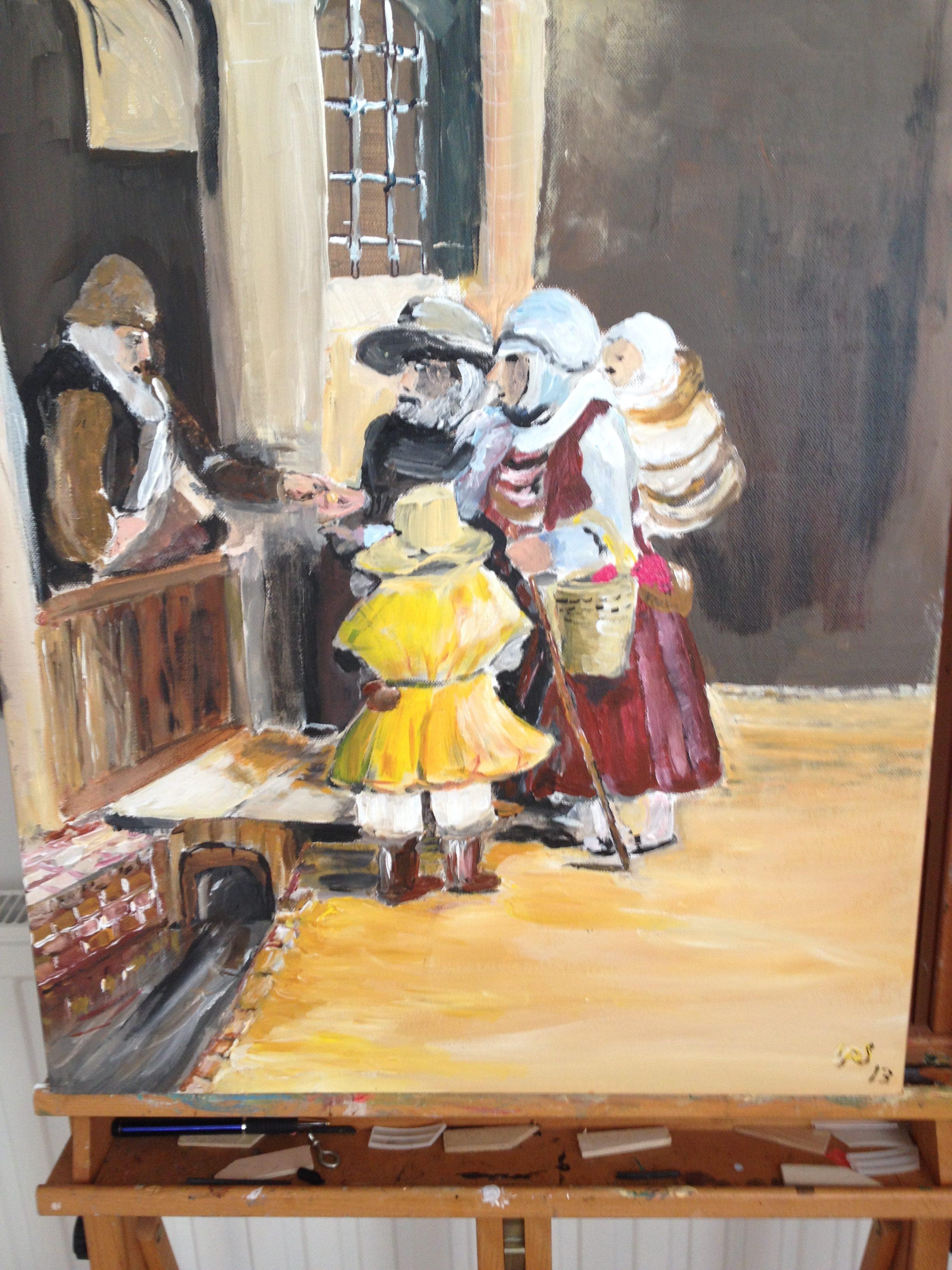 12. De bedelaars uit 1648 naar Rembrandt