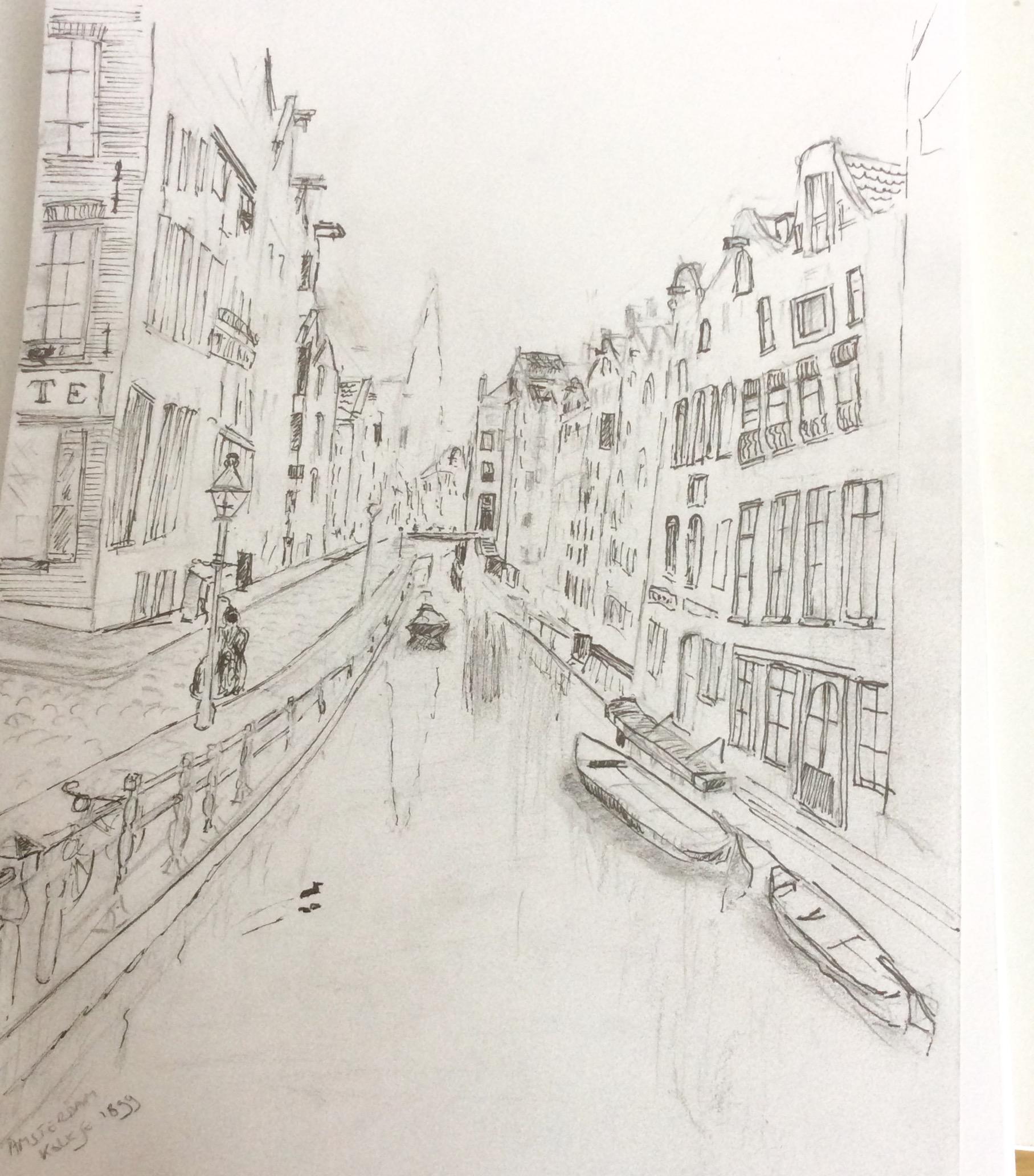 10. Het Kolkje Amsterdam 1903