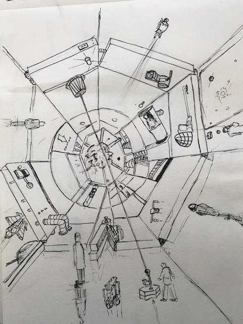 Ruimtestation intern
